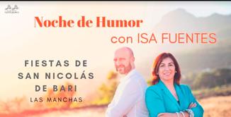 evento 7, Noche de Humor con Isa Fuentes